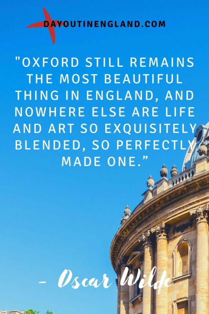 day out in oxford