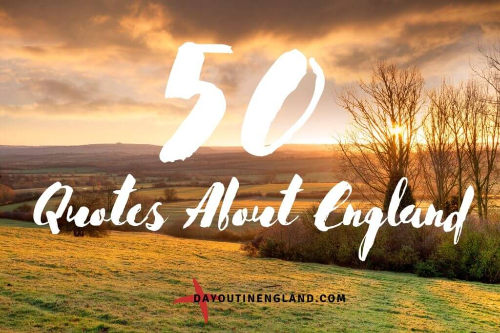 50 quotes about england