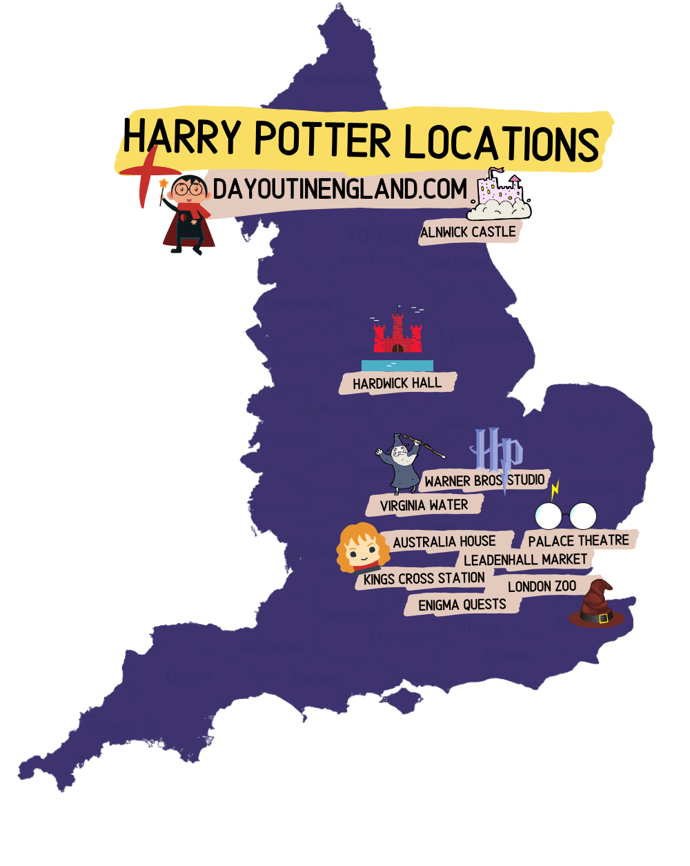 Harry Potter Locations England