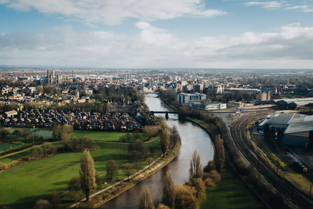 Views over York