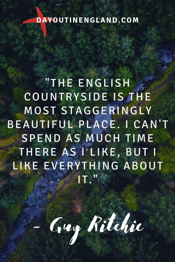 Guy ritchie quote about england