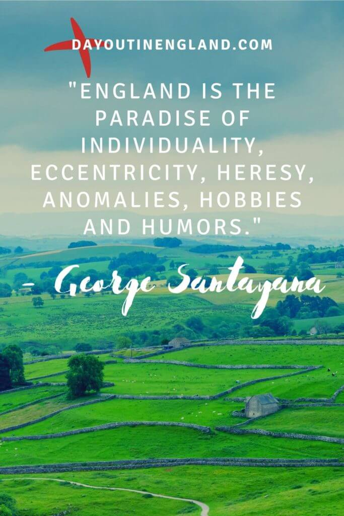 santayana quote about england
