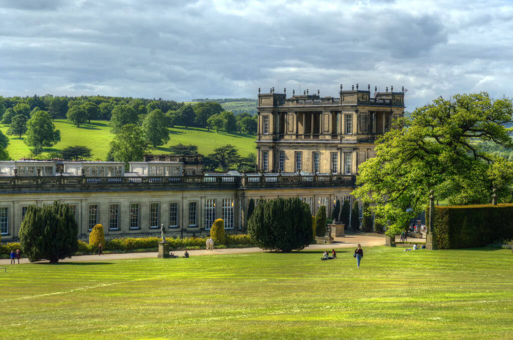 Chatsworth House, Derbyshire, Britain