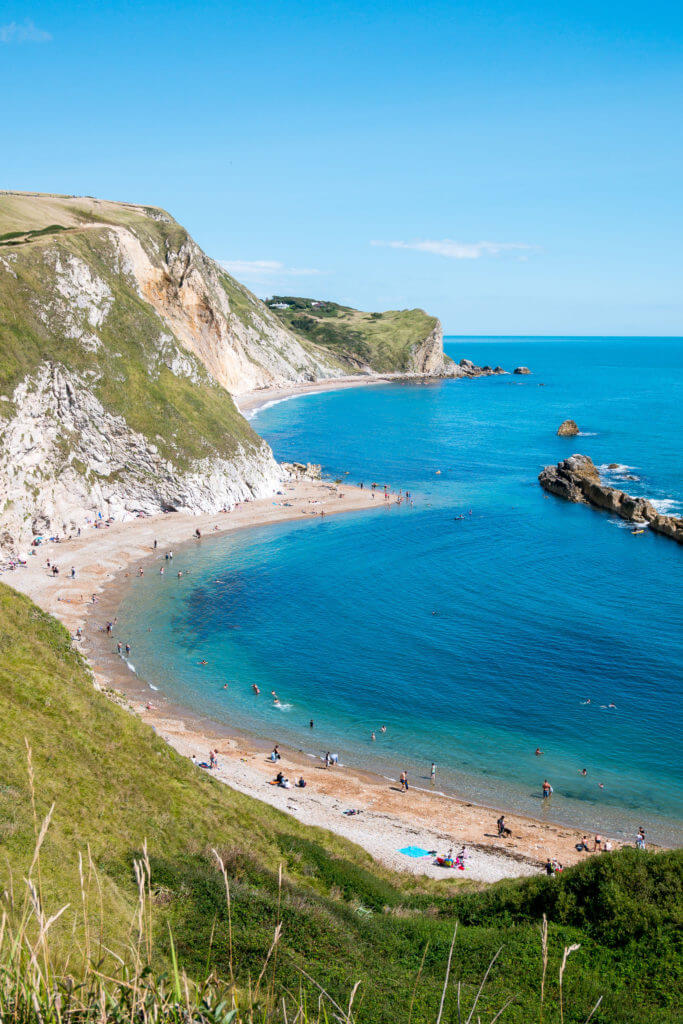 Durdle Door, Dorset in UK, Jurassic Coast World Heritage Site