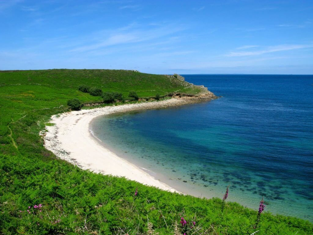 perpitch beach, st. martins, isles of scilly.