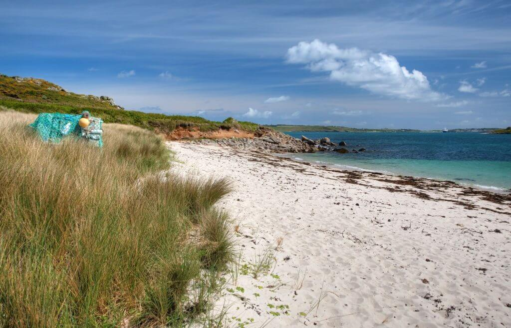 The Isles of Scilly were first inhabited in 6000BC