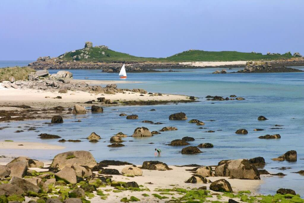 Tresco on the isles of scily