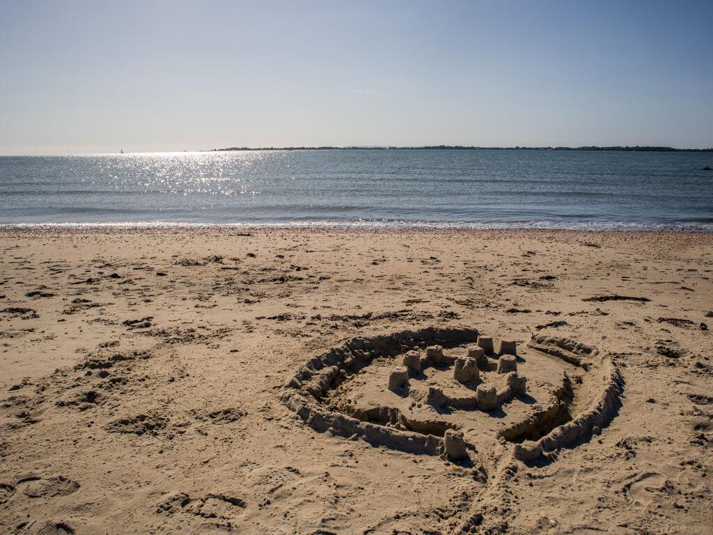 Beach of Thorney Island