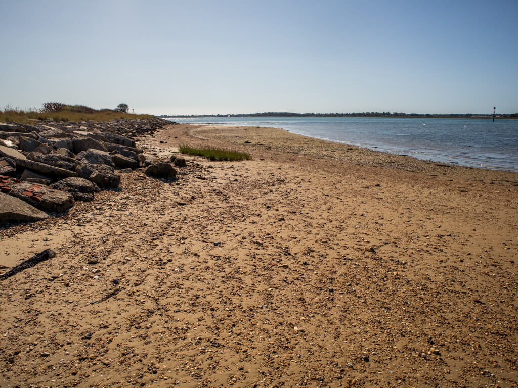 Amazing beaches on Thorney Island