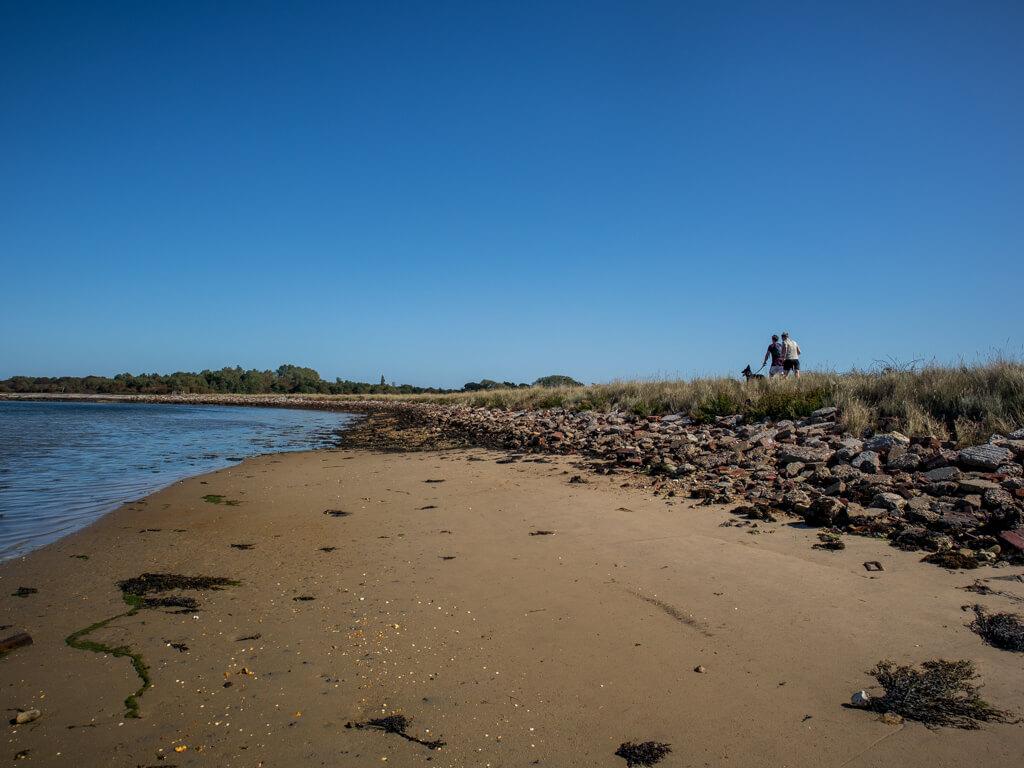 Walking round Thorney Island