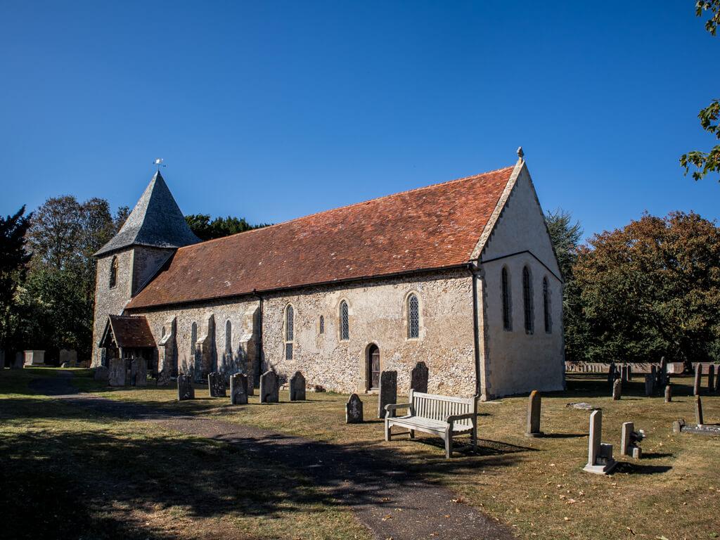 Thorney Island church