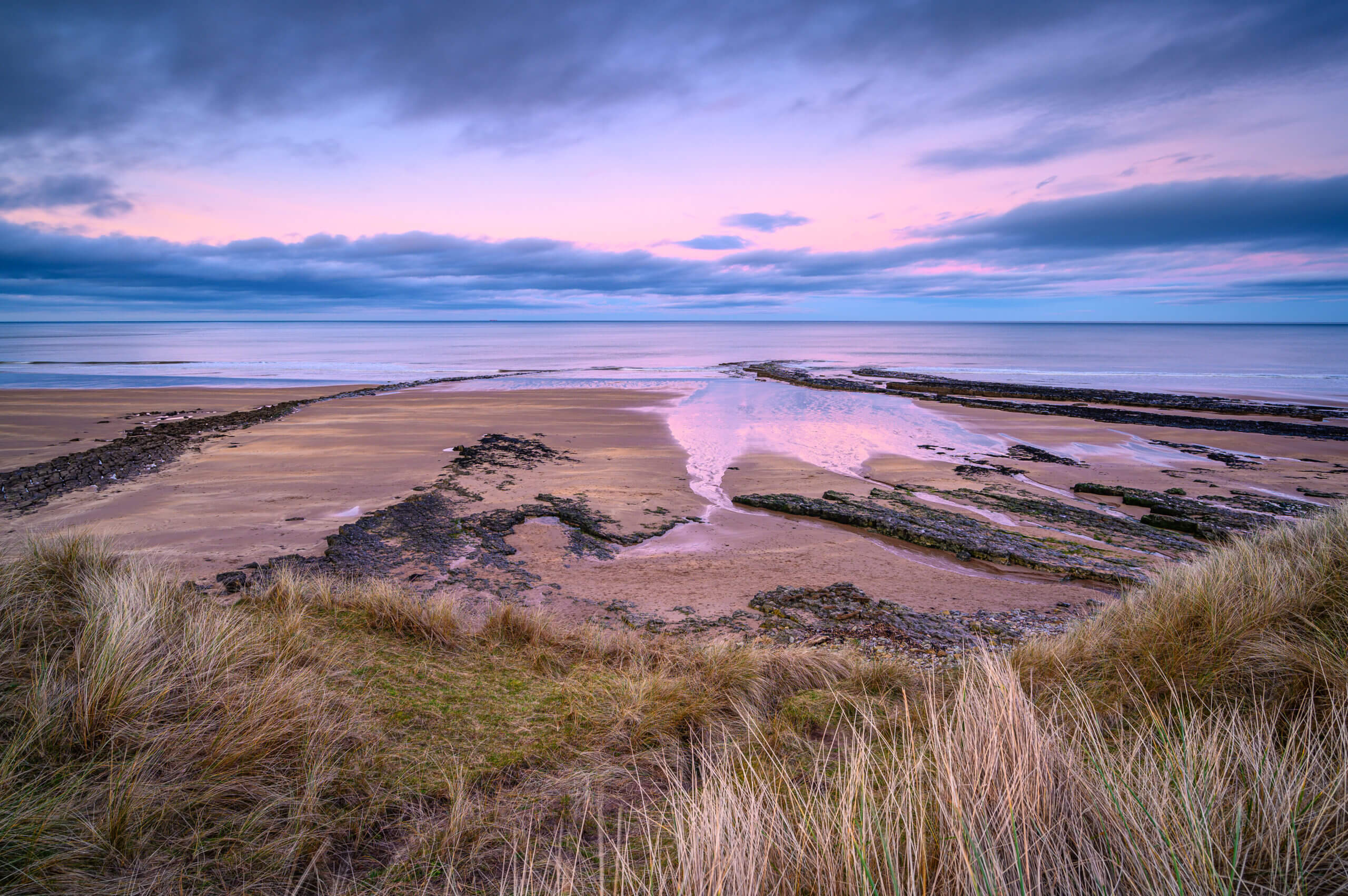 Cocklawburn is a rural beach within Northumberland Coast Area of Outstanding Natural Beauty (AONB), located just south of Berwick-upon-Tweed and is popular with families and dog walkers