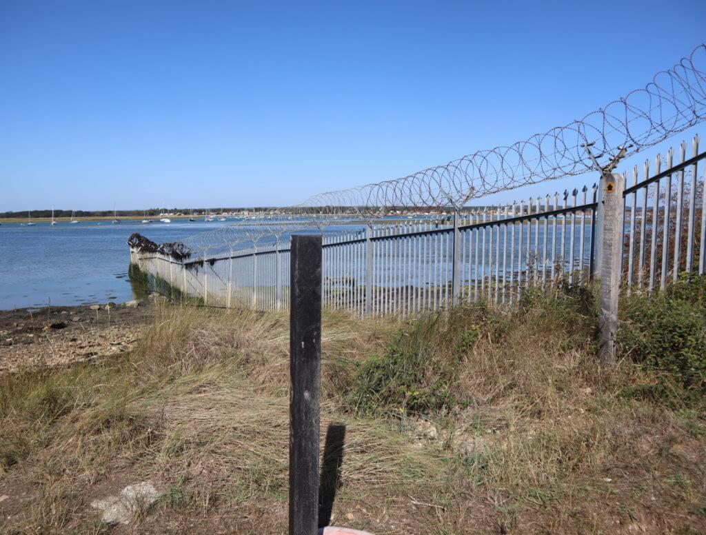 Gates on the Thorney Island Walk