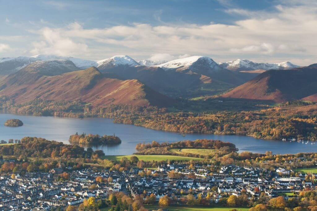 Views over Keswick
