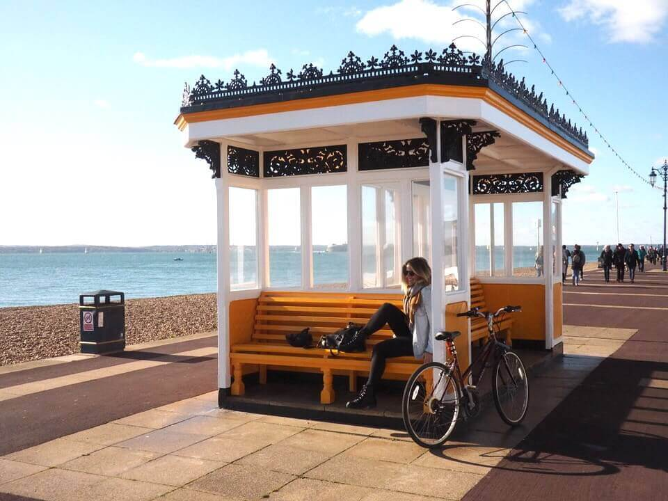 Cycling in Southsea