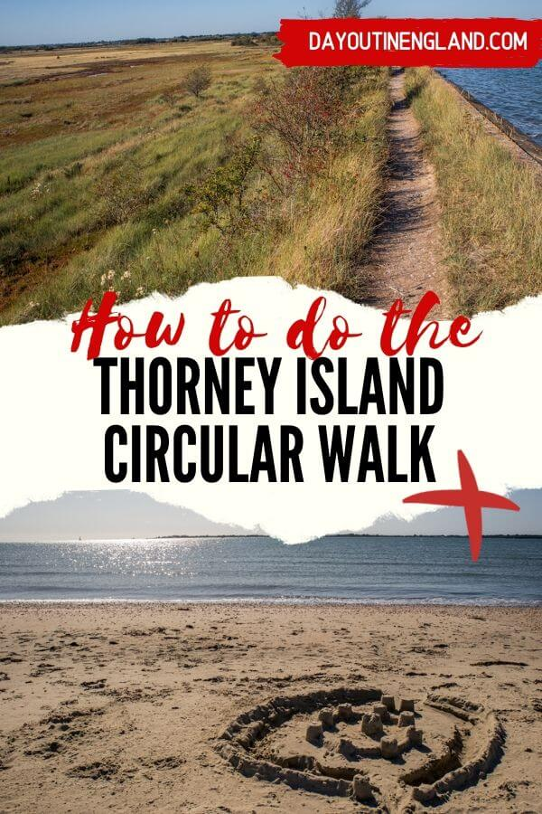how to do the circular walk thorney island