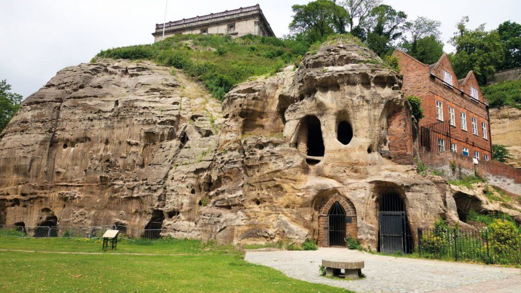 Caves in Nottingham