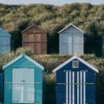 Beach huts Milton