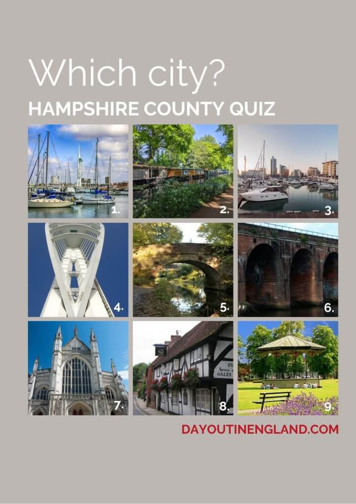 Cities in Hampshire