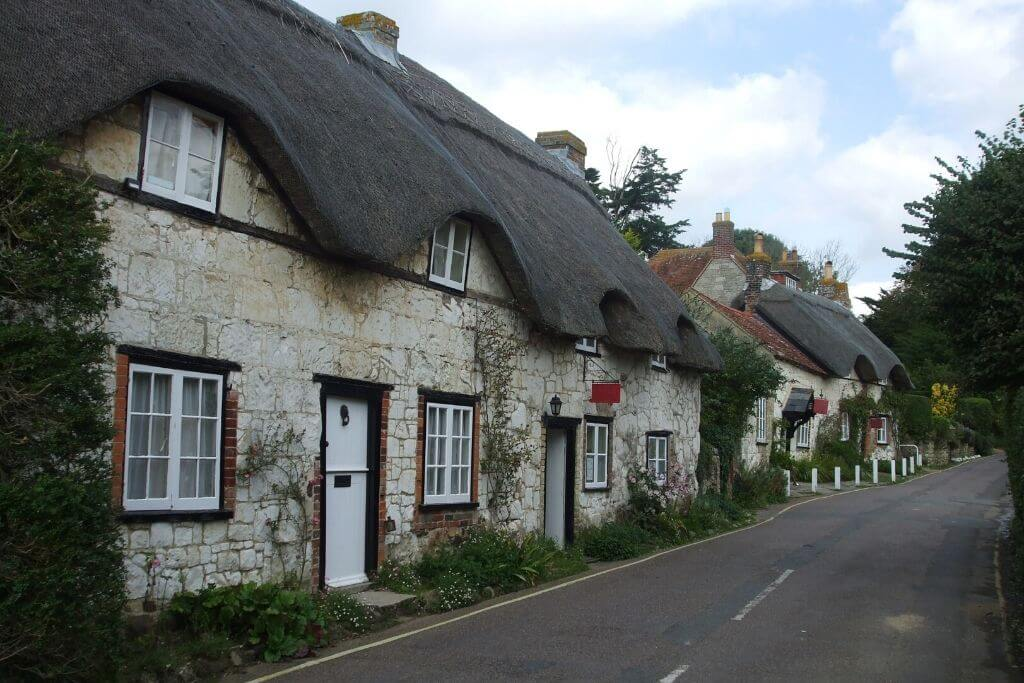 Isle of Wight thatched cottages