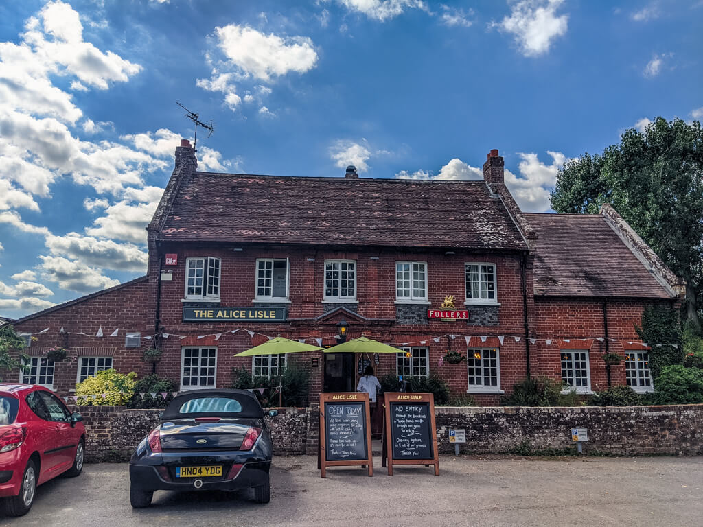 best new forest pub