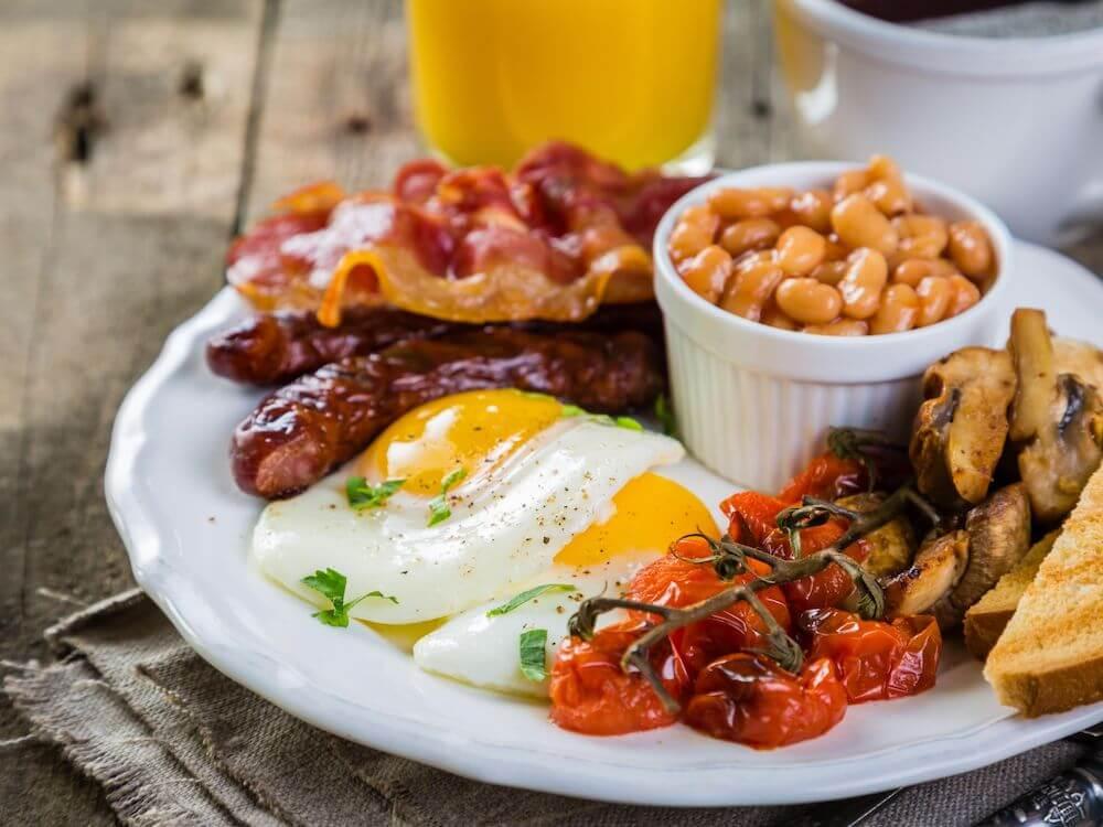 England food breakfast