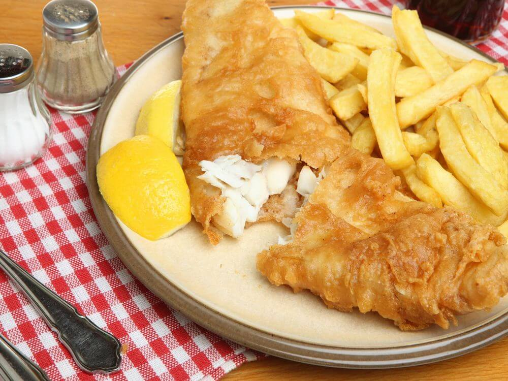 england food fish and chips