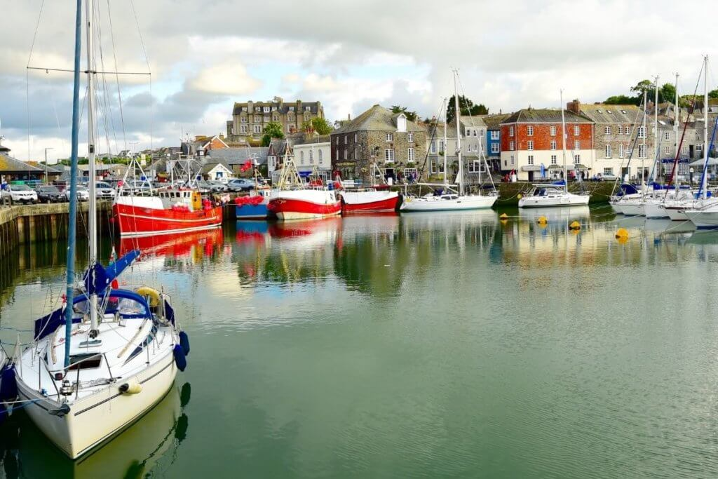 padstow in cornwall