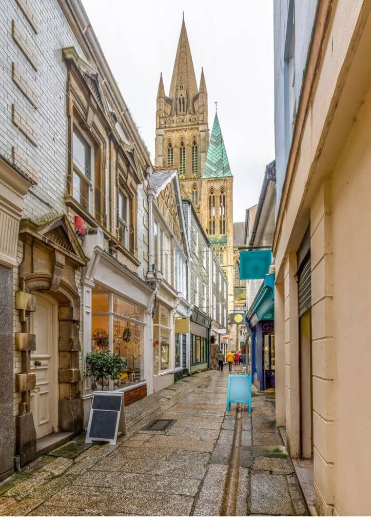 picture of truro in cornwall