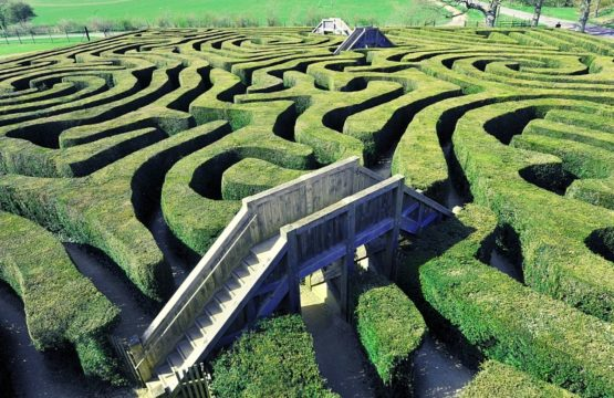 Mazes in England