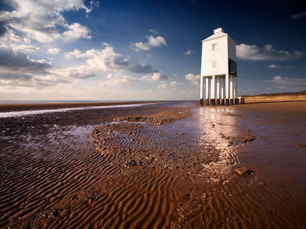 Burnham on Sea for the day