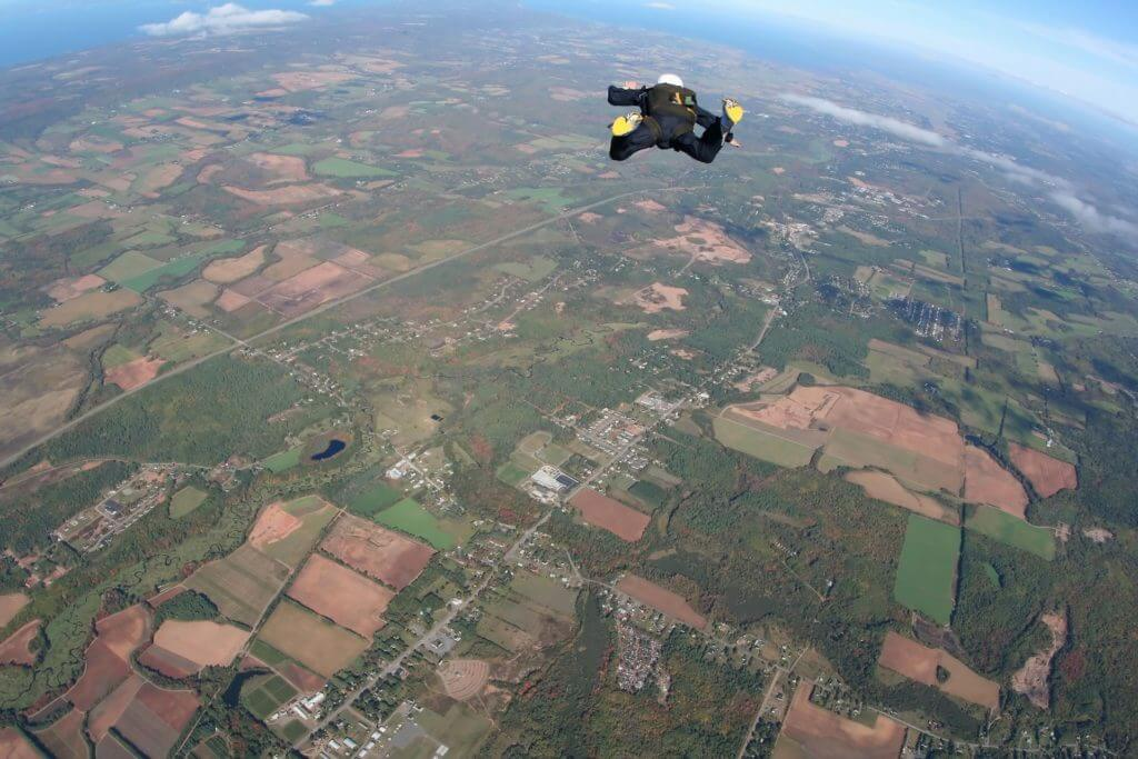best places to go skydiving in england
