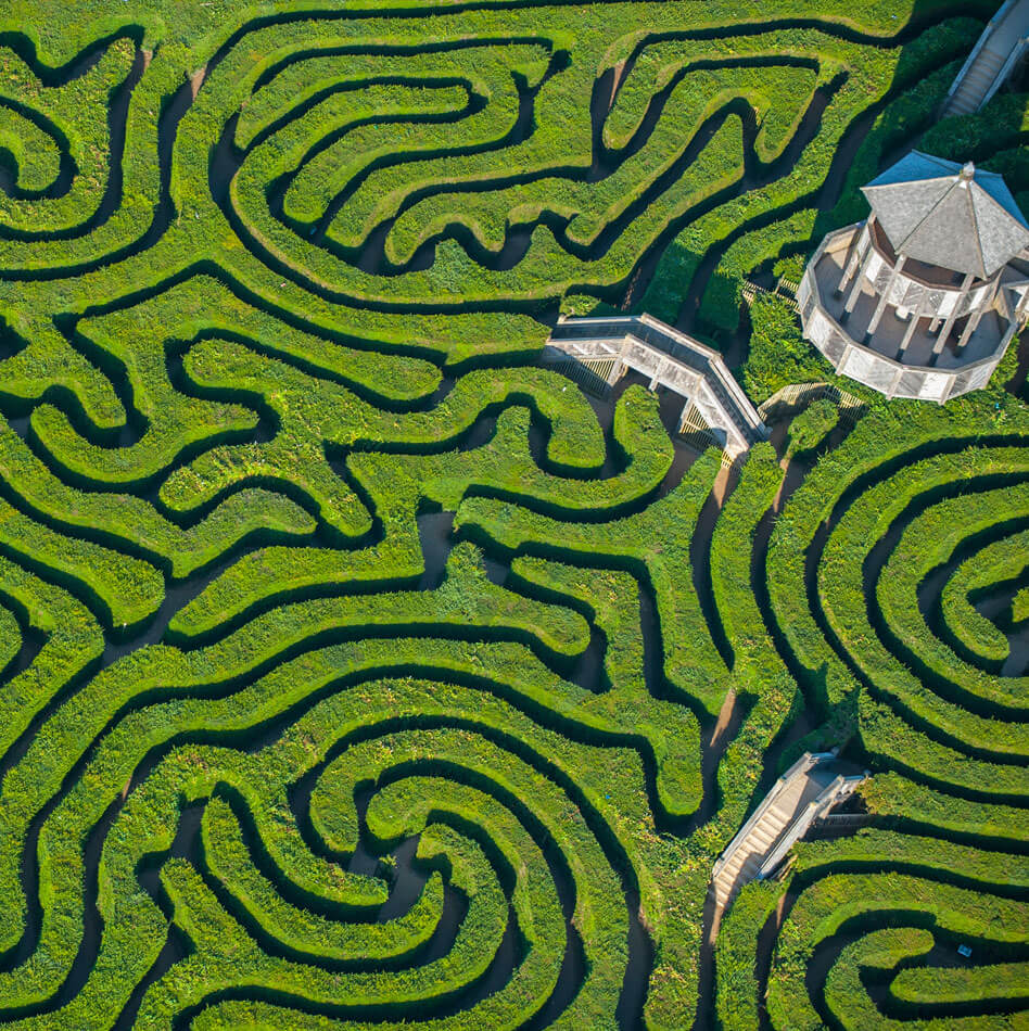 Cool maze in england