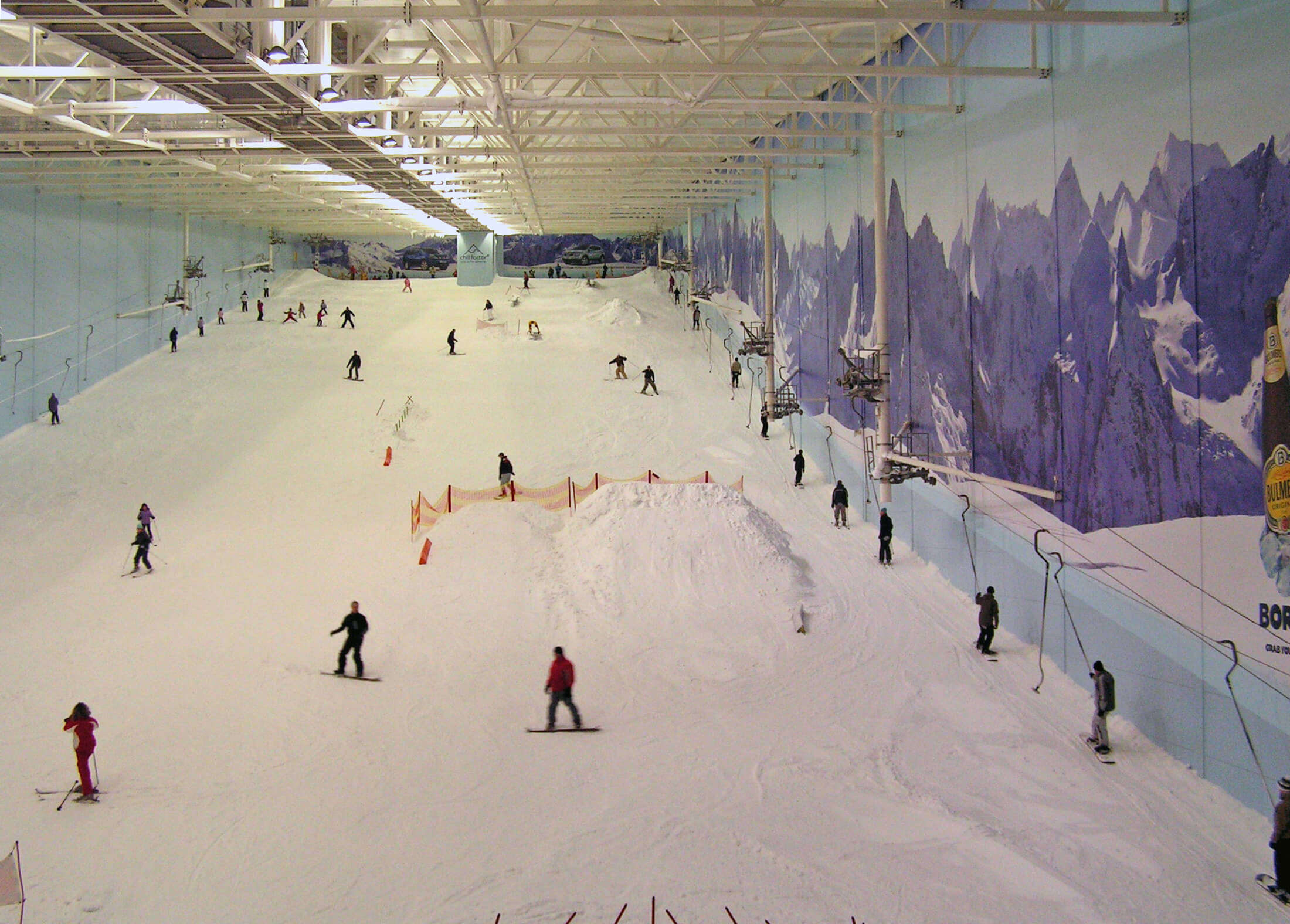 Best indoor ski slopes