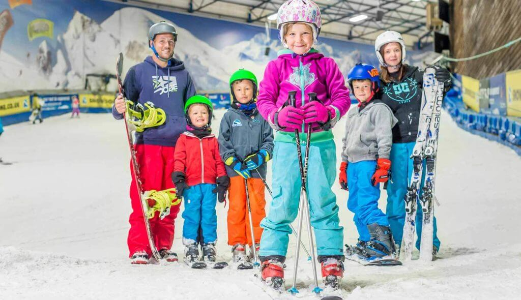 best indoor ski slope