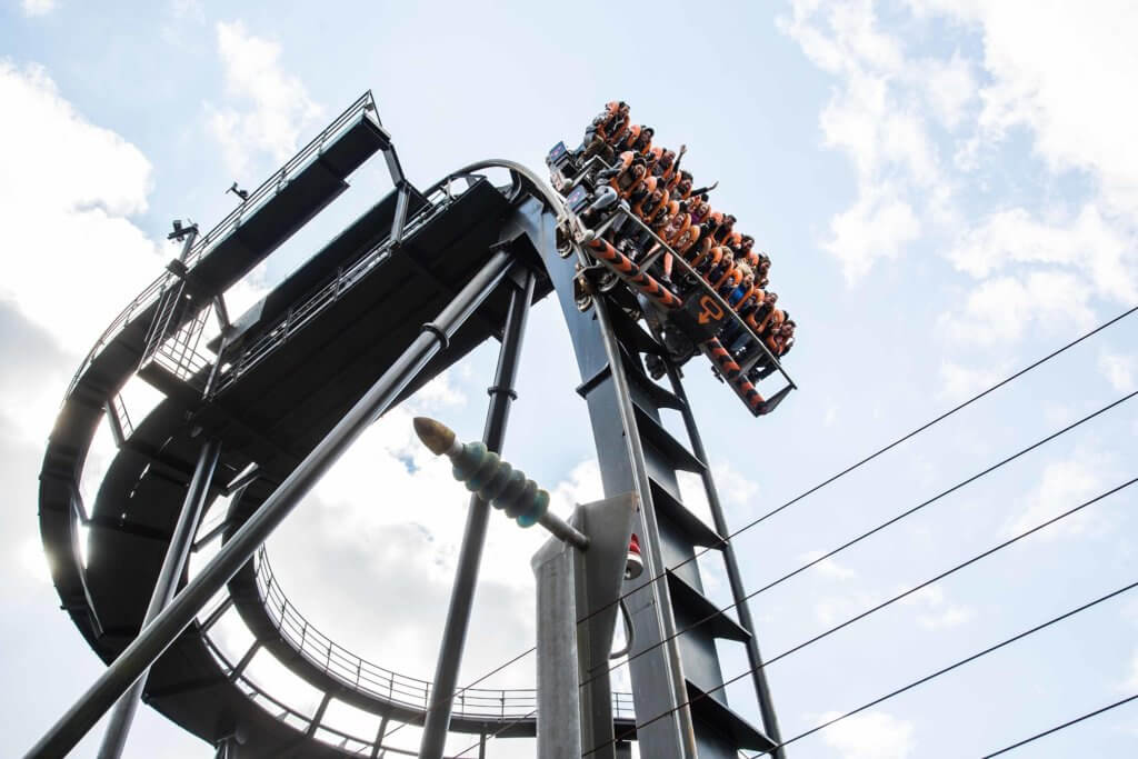 Best theme parks England