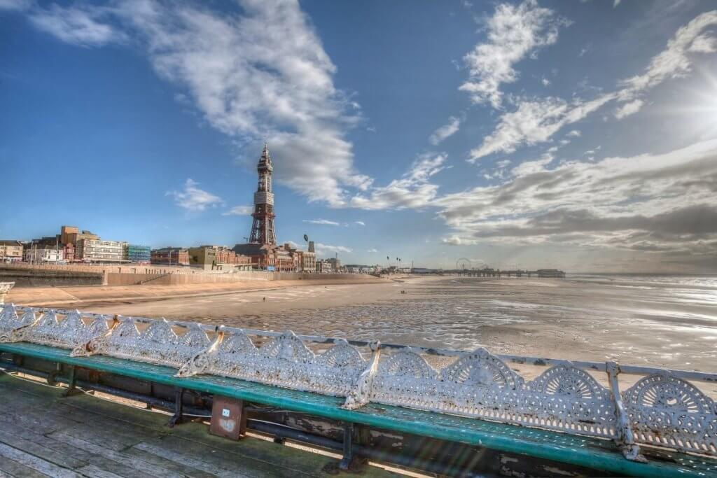 Tower in blackpool