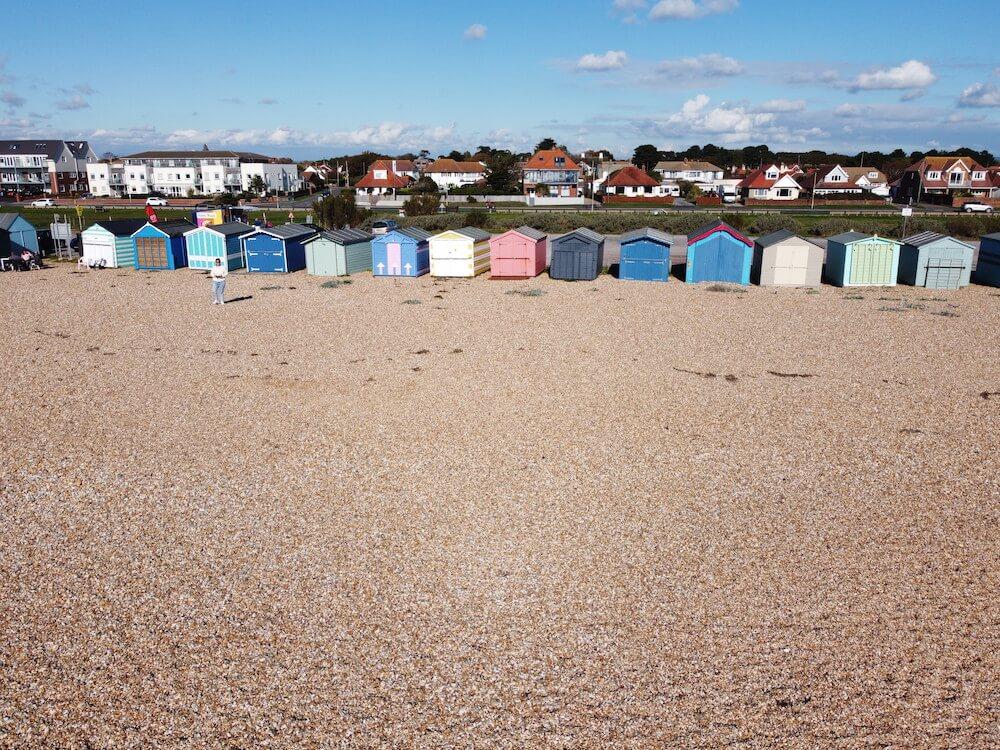 Hayling Island Beach huts