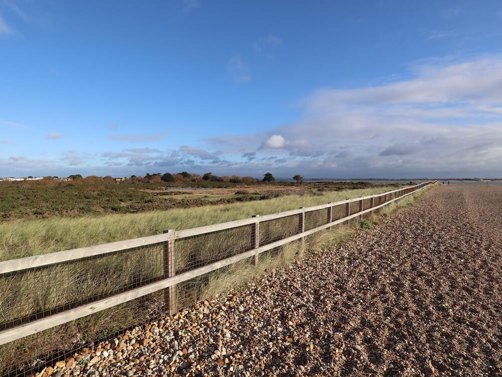 Walking at Sandy Point