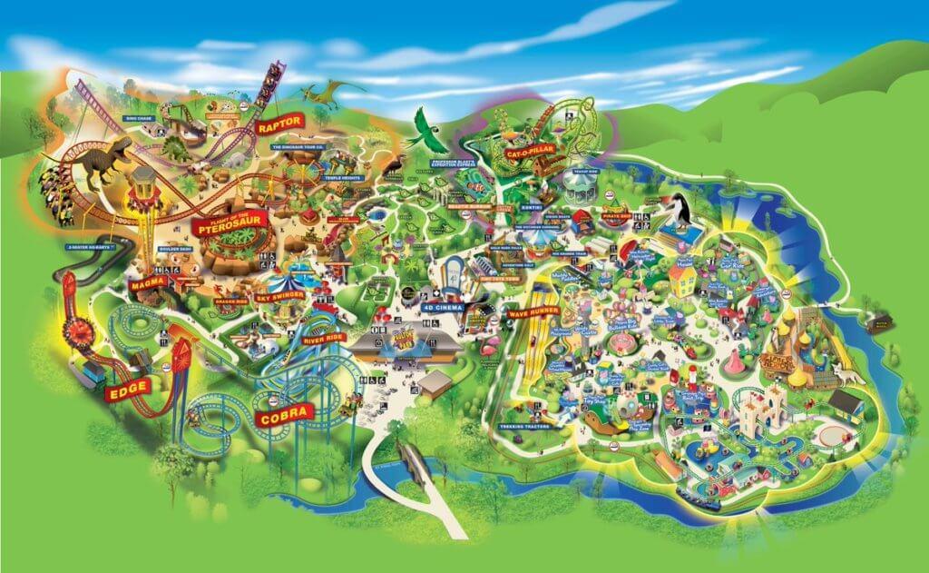 england theme park