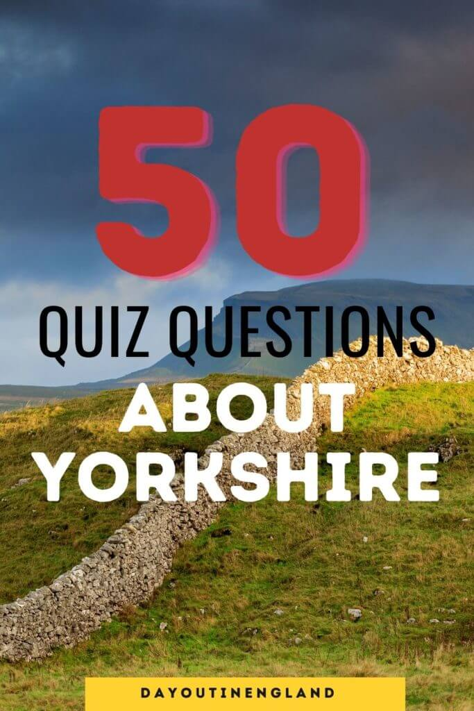 Quiz about Yorkshire