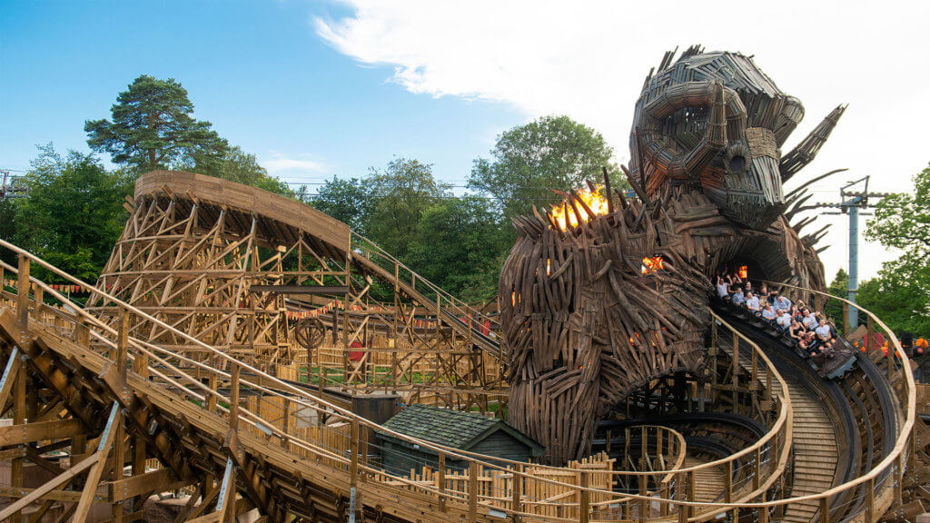 best theme parks in england