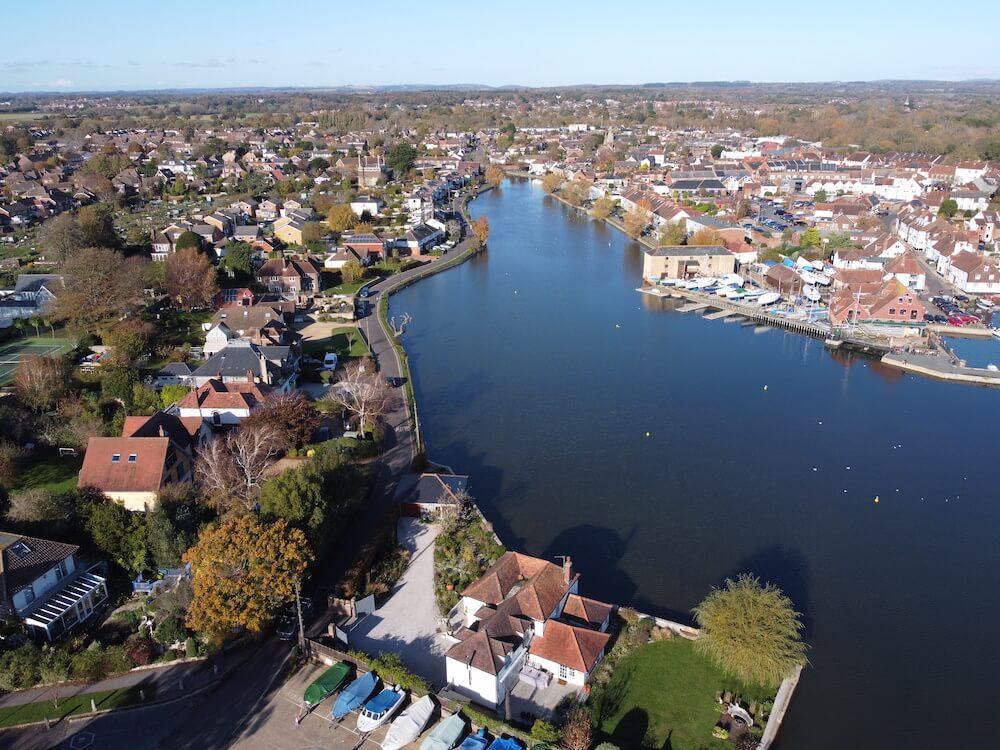Slipper Pond in Emsworth