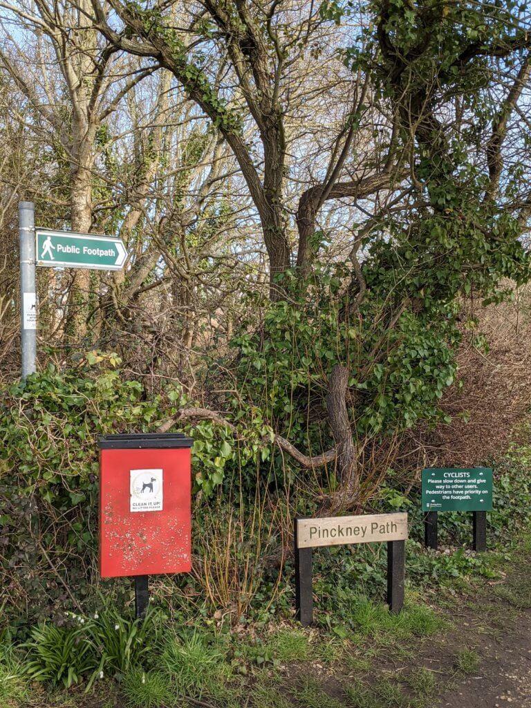 Walking the Solent Way