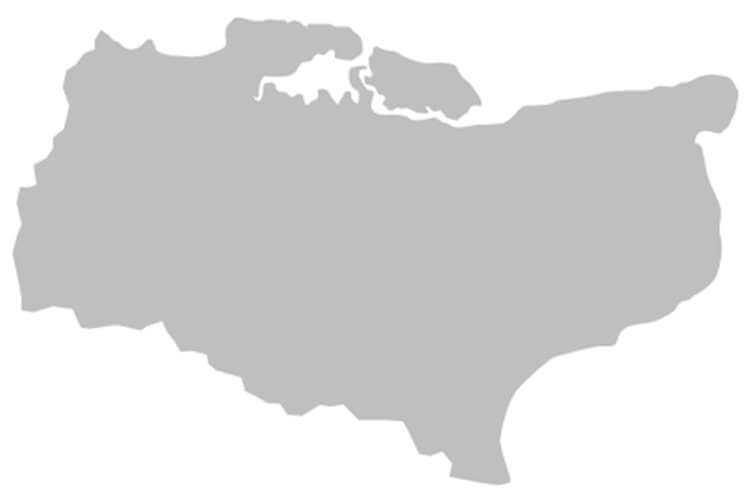 English county map