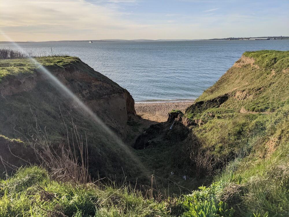 Brownwich Cliffs