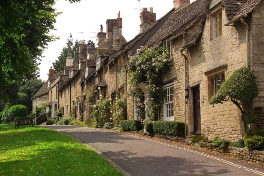 cute village england