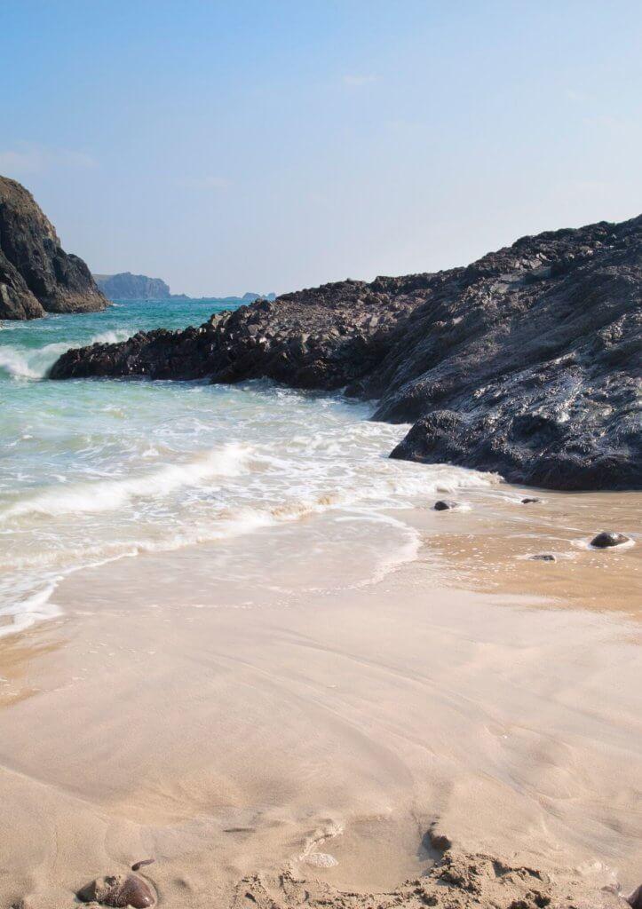 white sand beaches england