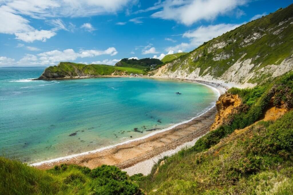 white sands beach england