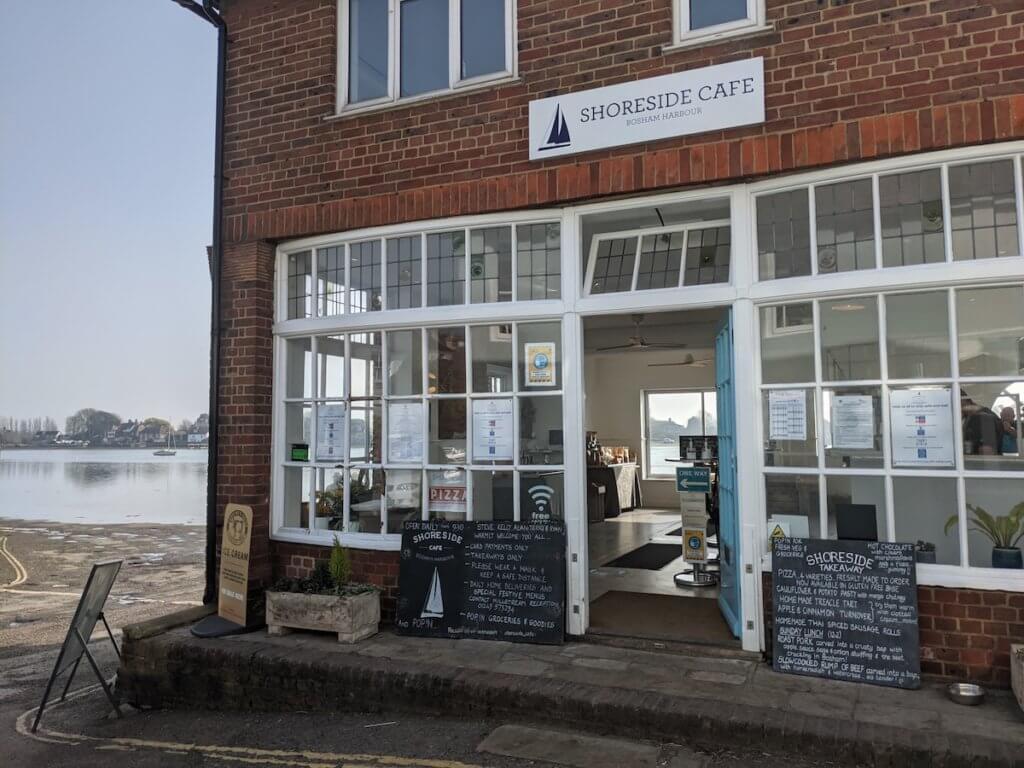 shore cafe bosham